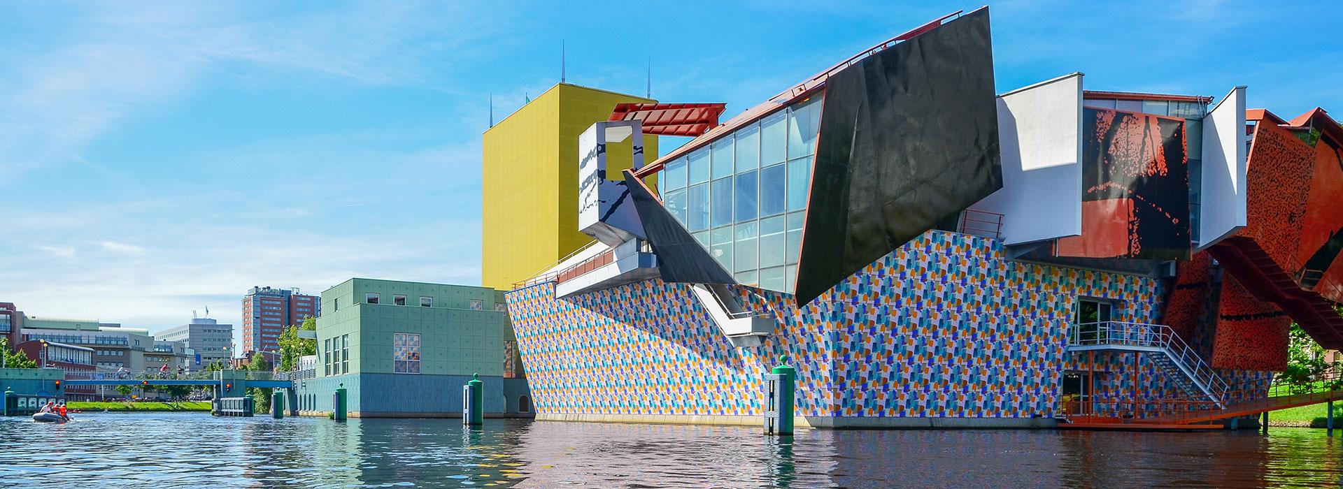 groningen-bezoeken-vakantie-in-Friesland-Ljeppershiem-vakantiepark-Groninger-museum