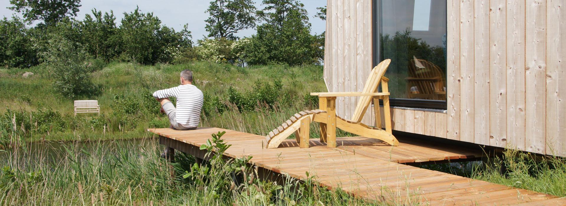vakantie - friesland - vakantiepark - Ljeppershiem - tiny house-natuurhuisje-1