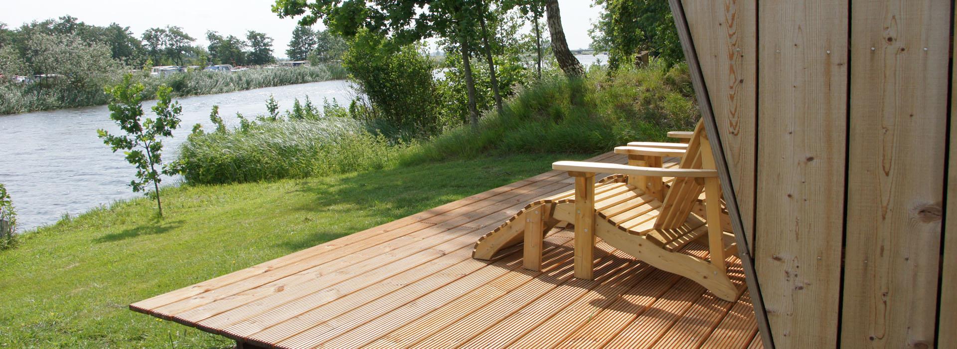 vakantie - friesland - vakantiepark - Ljeppershiem - tiny house - natuurhuisje - De Pols