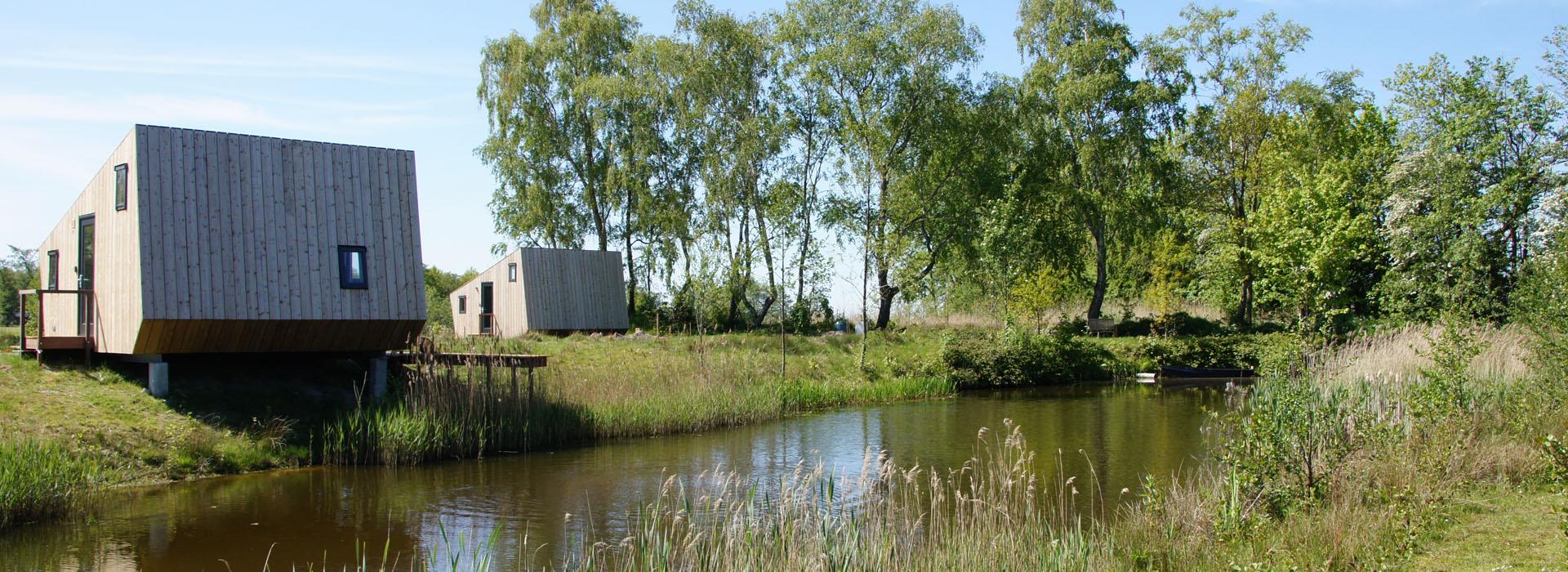 vakantie - friesland - vakantiepark - Ljeppershiem - tiny house-natuurhuisje reserveren