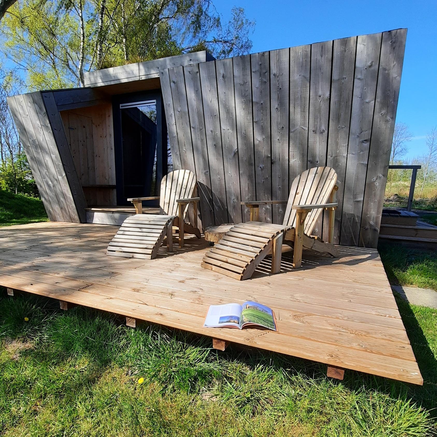 vakantie - friesland - vakantiepark - Ljeppershiem - tiny house-natuurhuisje-rust