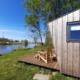 vakantie - friesland - vakantiepark - Ljeppershiem - tiny house-natuurhuisje-vaarwater