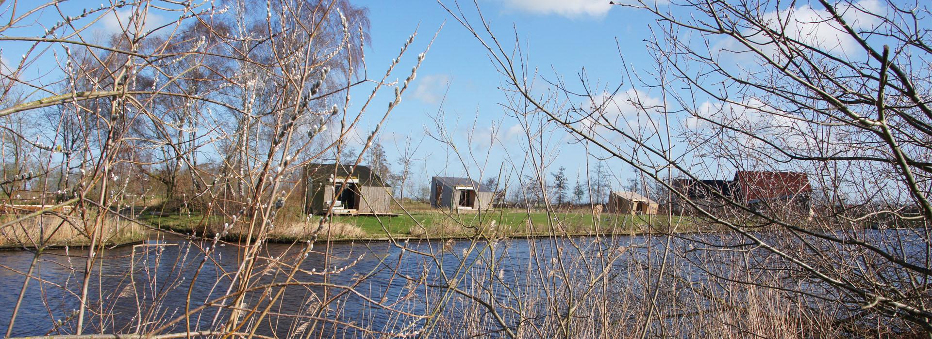 vakantie - friesland - vakantiepark - Ljeppershiem - tiny house-natuurhuisje